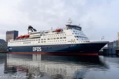 Crown Seaways oplagt i København d. 14/11-2020