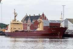IDA H - IMO 7116808 i Korsør d. 10 juli 2020.